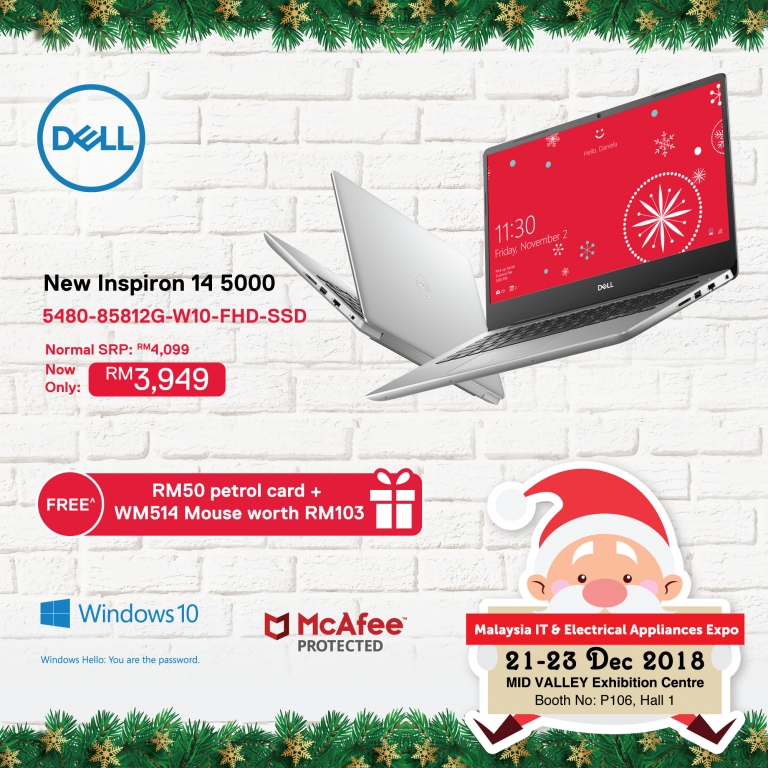 DELL PROMOTIONS @ MALAYSIA IT & ELECTRICAL APPLIANCES EXPO II KL