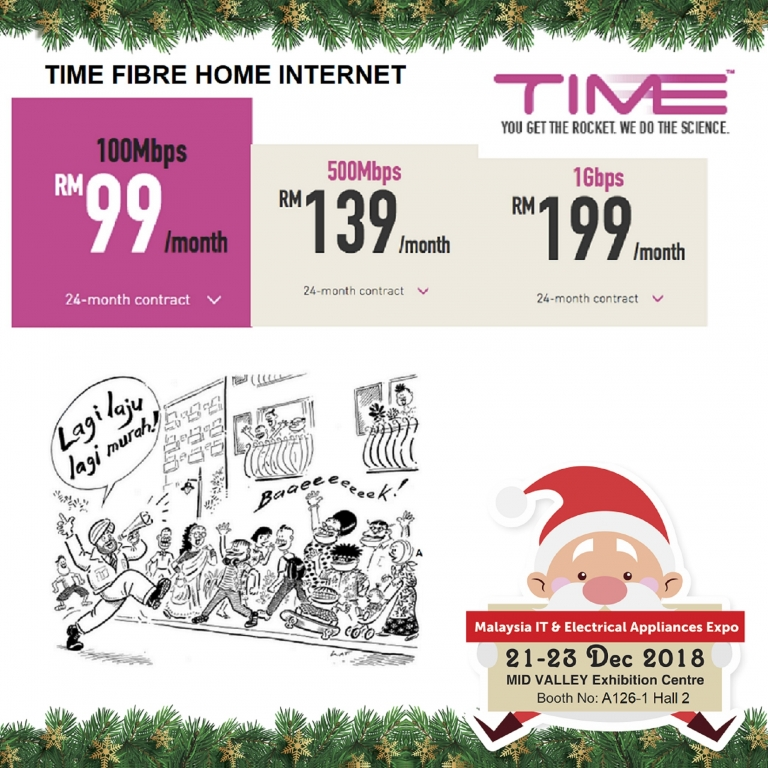 TIME PROMOTIONS @ MALAYSIA IT & ELECTRICAL APPLIANCES EXPO II KL
