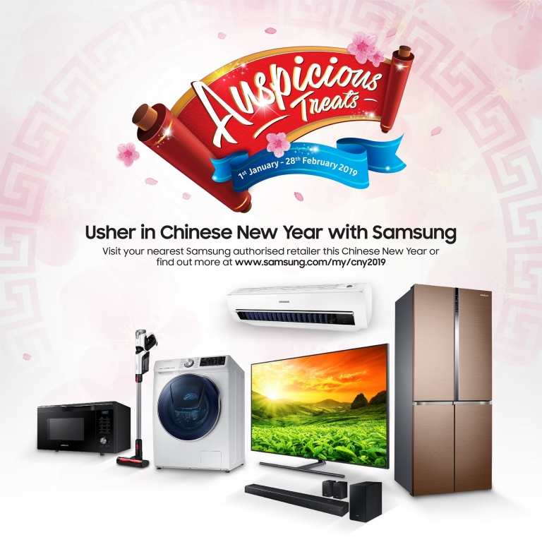 Celebrate this coming Chinese New Year with Samsung !!