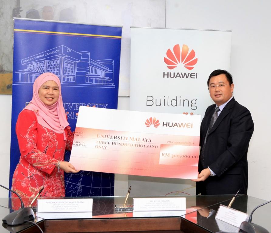 Huawei stipend on Education Sponsorship for University Malaya