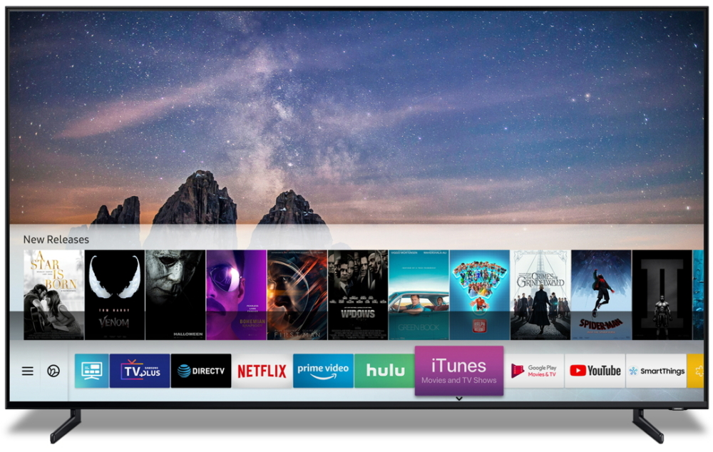 Samsung Smart TV is now can support iTunes Movies & TV Shows and Apple AirPlay 2