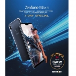 ZenFone Max (M2) - Lazada Flash Sales (RM599 only) on 15-Jan