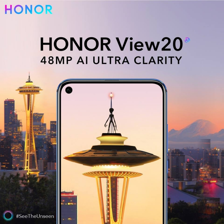Honor View 20 – SEE THE UNSEEN