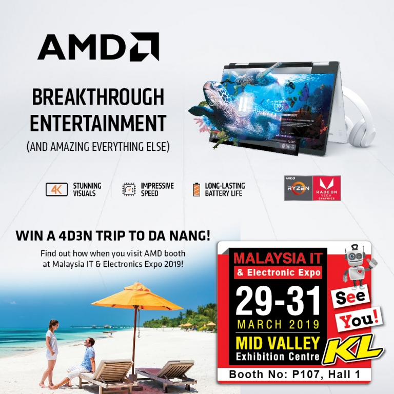 AMD PROMOTIONS @ MALAYSIA IT & ELECTRONIC EXPO KL