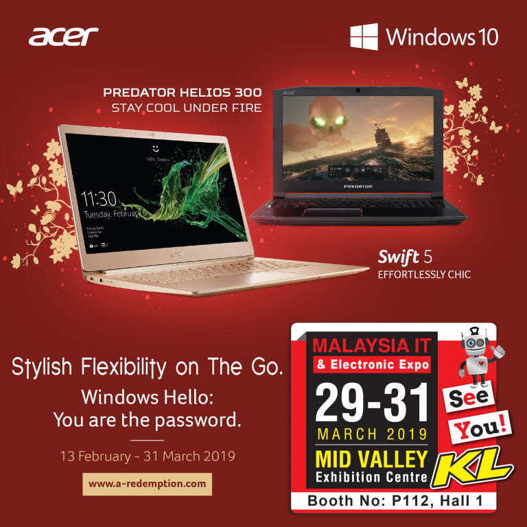 ACER PROMOTIONS @ MALAYSIA IT & ELECTRONIC EXPO KL
