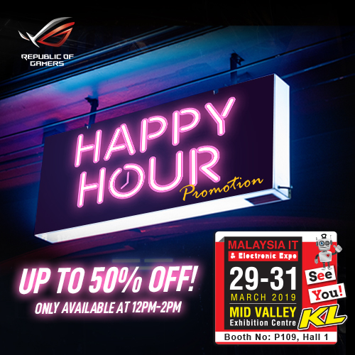 ASUS PROMOTIONS @ MALAYSIA IT & ELECTRONIC EXPO KL