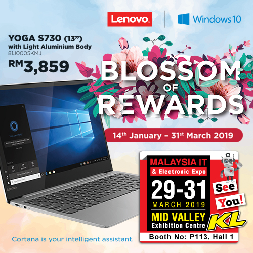 LENOVO PROMOTIONS @ MALAYSIA IT & ELECTRONIC EXPO KL
