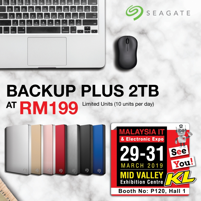 SEAGATE PROMOTIONS @ MALAYSIA IT & ELECTRONIC EXPO KL