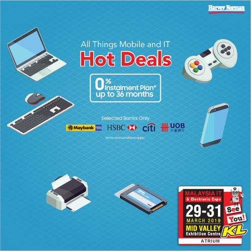 HARVEY NORMAN PROMOTIONS @ MALAYSIA IT & ELECTRONIC EXPO KL