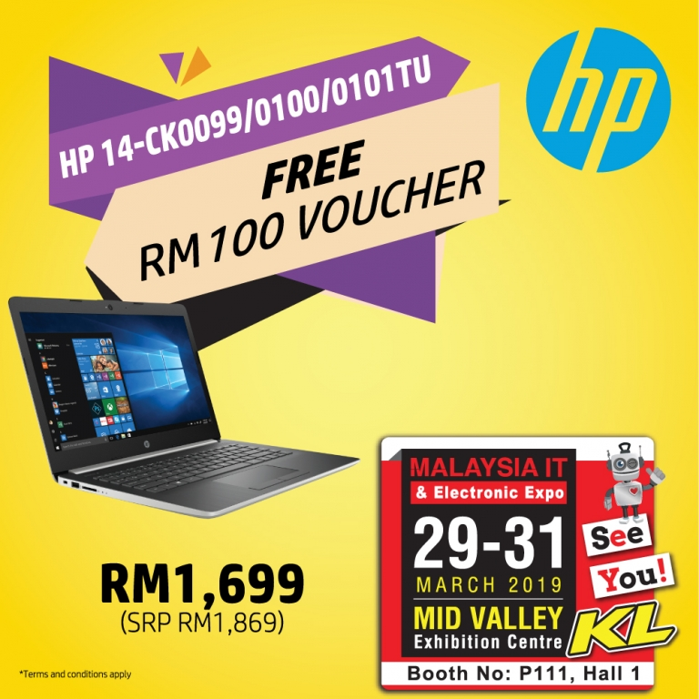 HP PROMOTIONS @ MALAYSIA IT & ELECTRONIC EXPO KL