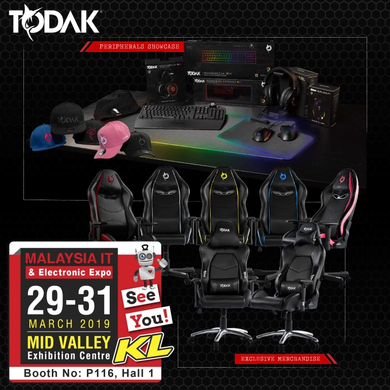 TODAK PROMOTIONS @ MALAYSIA IT & ELECTRONIC EXPO KL
