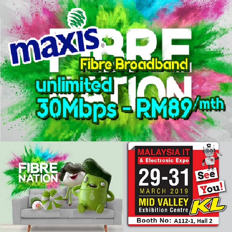 MAXIS PROMOTIONS @ MALAYSIA IT & ELECTRONIC EXPO KL