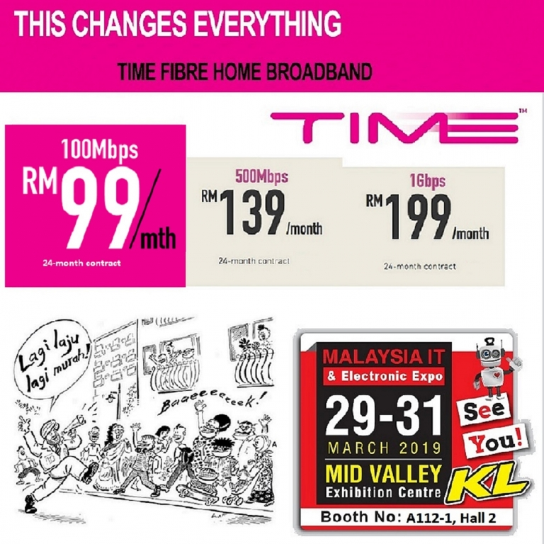TIME PROMOTIONS @ MALAYSIA IT & ELECTRONIC EXPO KL