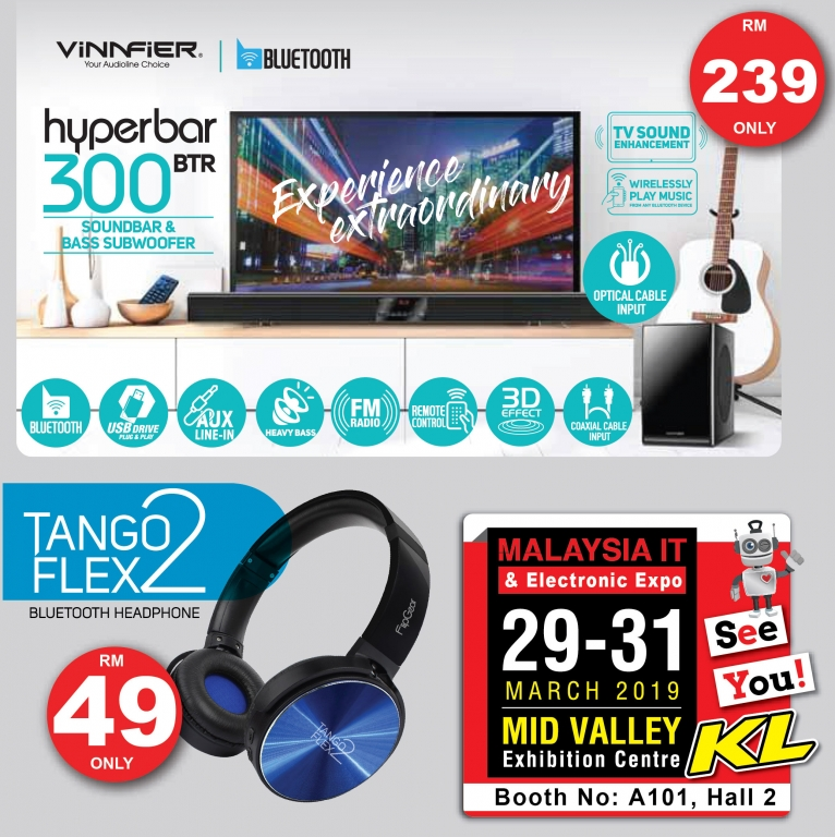 VINNFIER PROMOTIONS @ MALAYSIA IT & ELECTRONIC EXPO KL