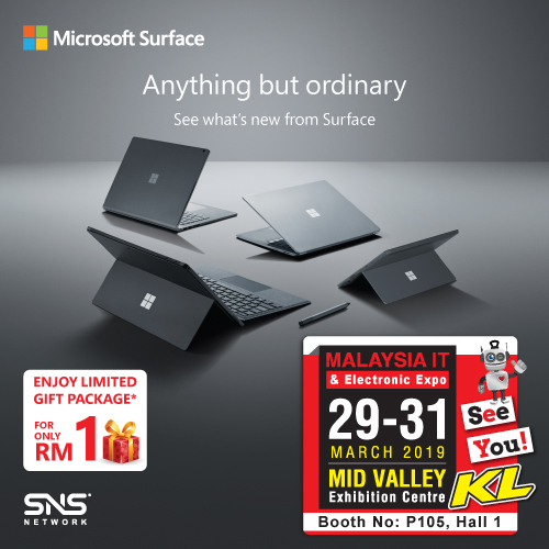 MICROSOFT PROMOTIONS @ MALAYSIA IT & ELECTRONIC EXPO KL