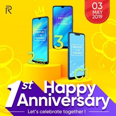 real me anniversary sales